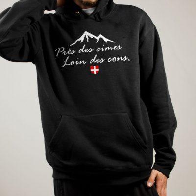 Sweat Savoie : Près des cimes loin des cons homme noir