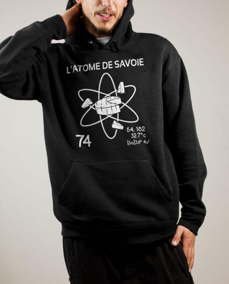 Sweat Savoie : L'atome de Savoie 74 homme noir