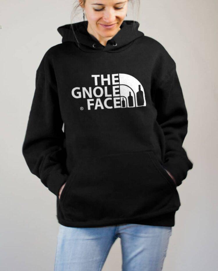 Sweat Savoie : The Gnole Face femme noir