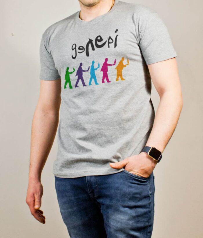 T-shirt Savoie : Genepi Genesis homme gris