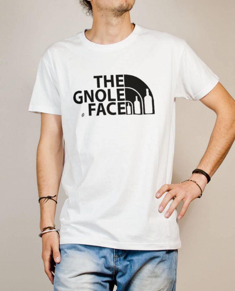 T-shirt Savoie : The Gnole Face homme blanc