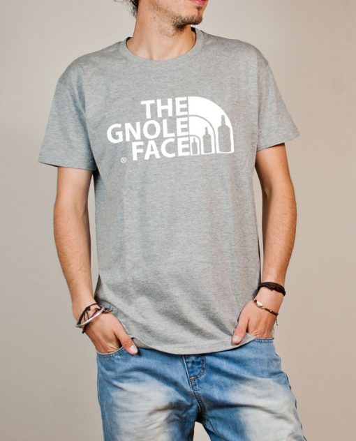 T-shirt Savoie : The Gnole Face homme gris