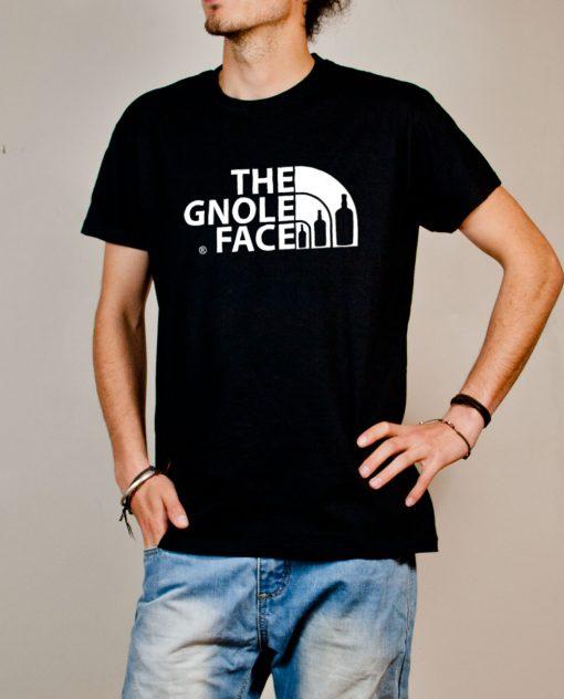 T-shirt Savoie : The Gnole Face homme noir