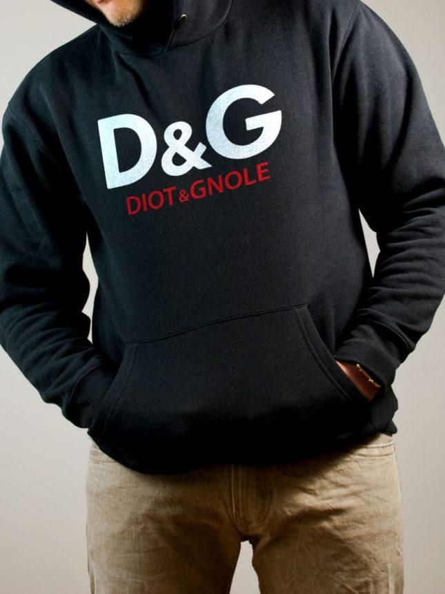 Sweat Savoie : D&G Diot & Gnole homme noir