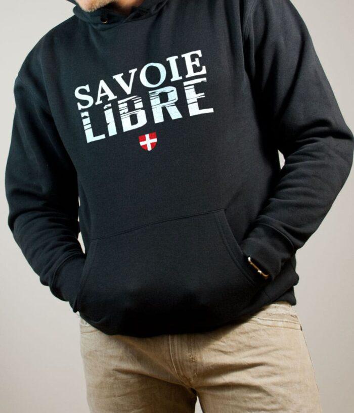 Sweat Savoie Libre homme noir