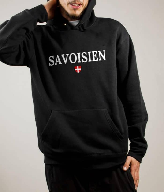 Sweat Savoisien homme noir