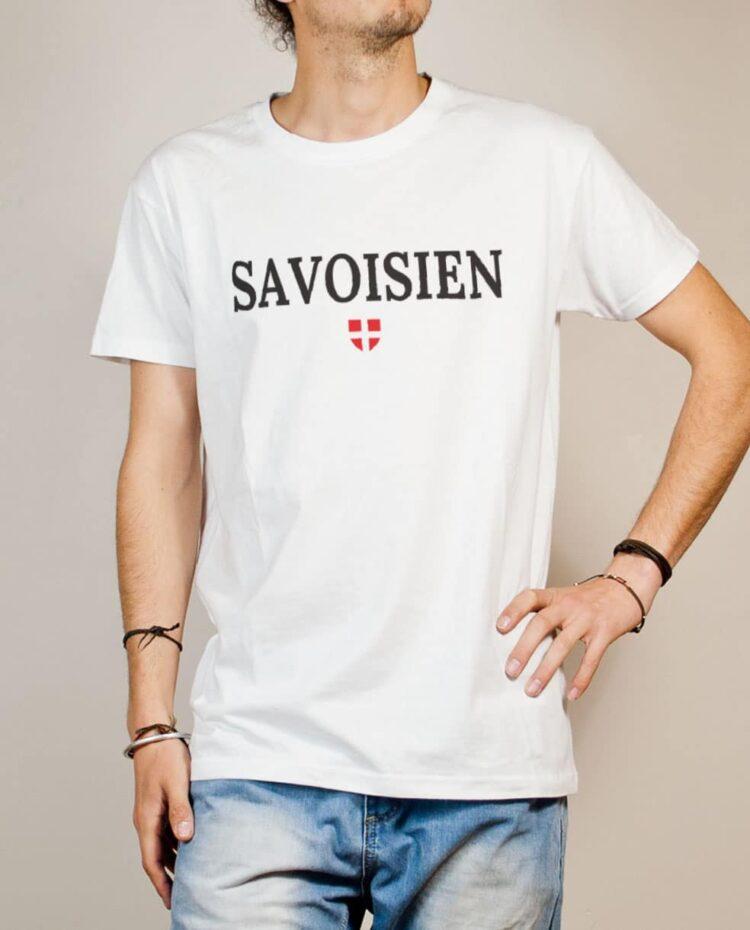 T-shirt Savoisien homme blanc