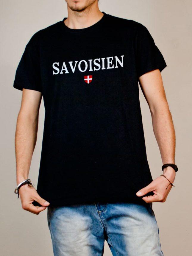 T-shirt Savoisien homme noir
