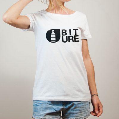 T-shirt Savoie : Biture parodie Picture femme blanc