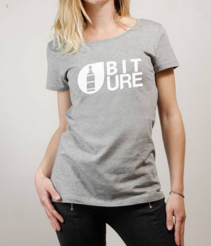 T-shirt Savoie : Biture parodie Picture femme gris