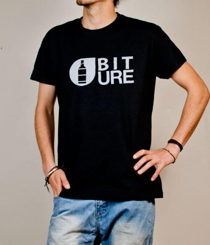 T-shirt Savoie : Biture parodie Picture homme noir